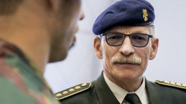 Le chef de la Défense affirme que le maintien des militaires en rue a eu «des effets néfastes» sur l'opérationnalité