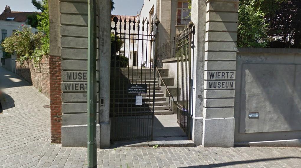 Musée Wiertz - Ixelles - Google Street View