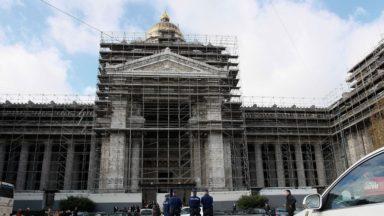 Le palais de justice libéré de ses échafaudages d'ici 2030