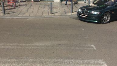Ixelles : des passages pour piétons quasiment invisibles autour de la place Flagey