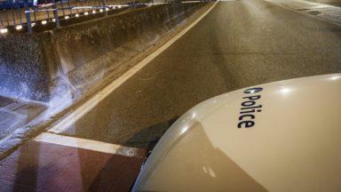 Laeken : un véhicule contrôlé à 116 km/h dans le tunnel Van Praet lors d'une action de la police