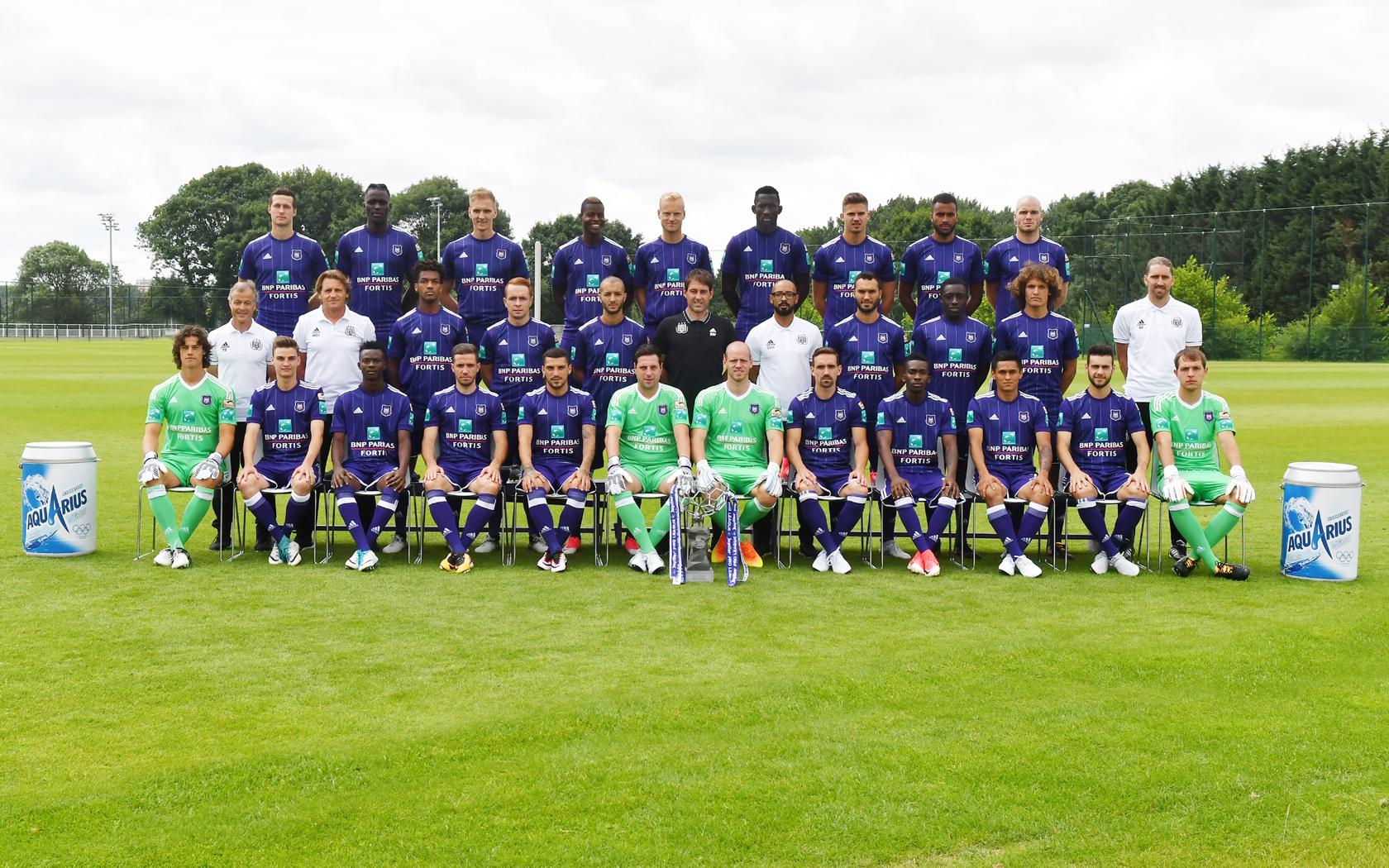 RSC Anderlecht - Photo officielle 2017-2018