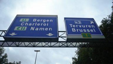 Les travaux sur le ring entre Tervuren et Woluwe-Saint-Etienne seront finis ce dimanche