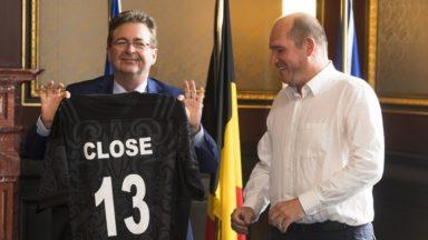 Philippe Close a prêté serment : il est officiellement le nouveau bourgmestre de Bruxelles