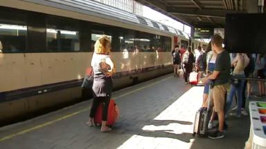 Grève de ce mardi : environ 60% des trains circulent, selon la SNCB