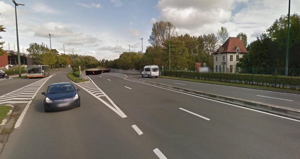 Tunnel Roodebeek - Boulevard de la Woluwe