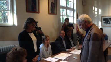 Linkebeek: Pasquale Nardone a prêté serment comme 3e échevin