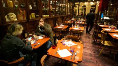 """Restaurants et cafés fermés jusqu'au 3 avril: """"Une catastrophe pour le secteur horeca"""""""