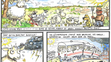 Une BD pour dénoncer le projet immobilier de Tour & Taxis