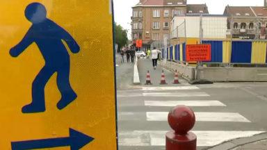 Jette : les travaux de la Place du Miroir se poursuivent malgré les rumeurs