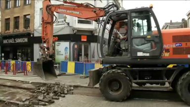 Jette: les travaux de la STIB ont débuté, le chaos pour les riverains et les commerçants