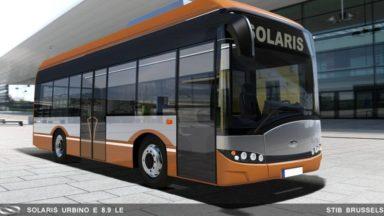 Les premiers bus 100% électriques de la STIB ont été commandés