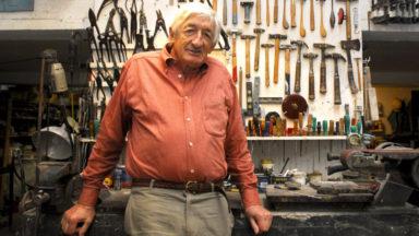 Le sculpteur belge Olivier Strebelle est décédé