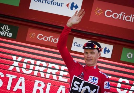Froome remporte l'étape en patron — Vuelta