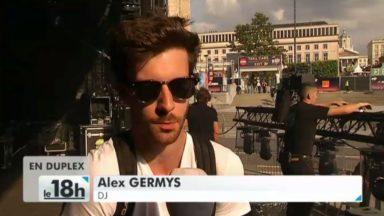 Brussels Summer Festival : Alex Germys ouvre une soirée électro au Mont des Arts