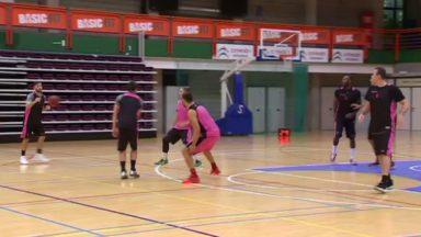 Basket : le Brussels reprend les entraînements avec son nouveau coach, Laurent Monier