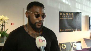 Après avoir été honoré en France, Damso reçoit son premier disque d'or en Belgique
