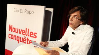 Elio Di Rupo avance ses propositions pour de «nouvelles conquêtes»