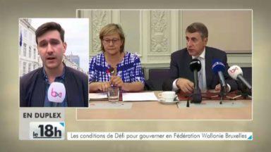 DéFI annonce 80 propositions pour participer à un nouveau projet en Fédération Wallonie-Bruxelles
