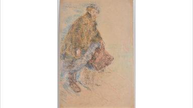 Un auto-portrait de James Ensor dévoilé par la Bibliothèque royale de Belgique