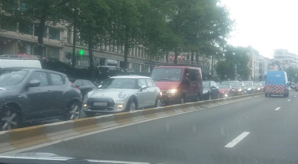 Embouteillages - Petite Ceinture Bruxelles