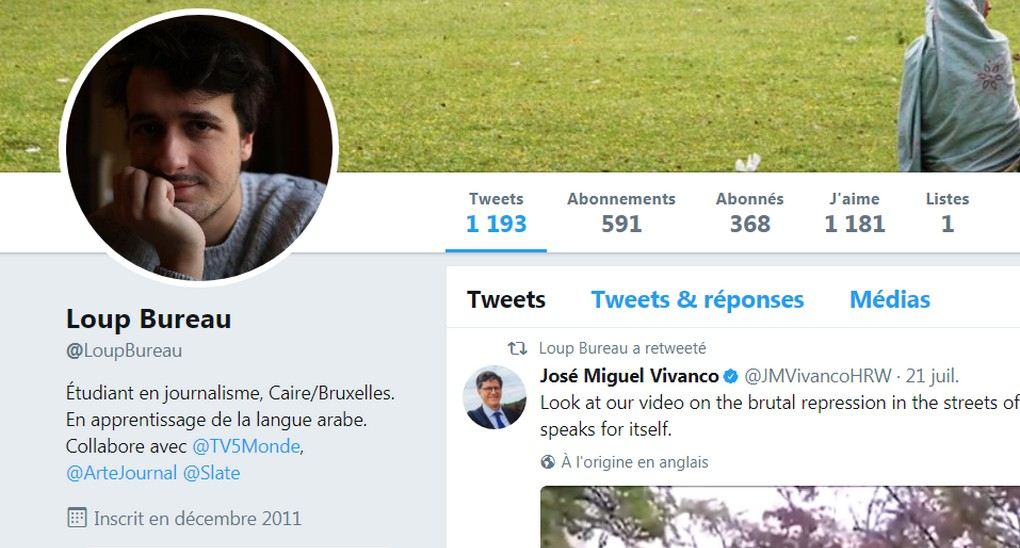 Loup Bureau - Twitter