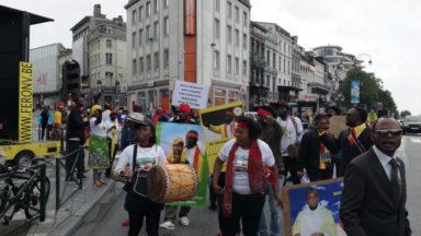 Une centaine de manifestants pour réclamer le départ de Kabila