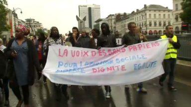 Ixelles : une soixantaine de manifestants demandent l'arrêt des expulsions vers le Congo