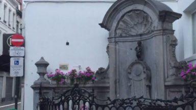 Le Manneken Pis arrose la rue de l'Étuve : la Ville de Bruxelles a réparé la célèbre statue