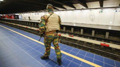 Les militaires se retireront des gares et stations de métro à partir de septembre