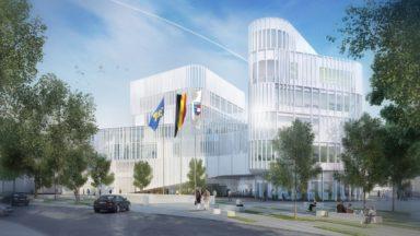Le chantier du nouveau centre administratif d'Etterbeek est officiellement lancé