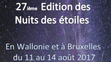 Woluwe-Saint-Pierre : une soirée pour observer les étoiles filantes ce samedi