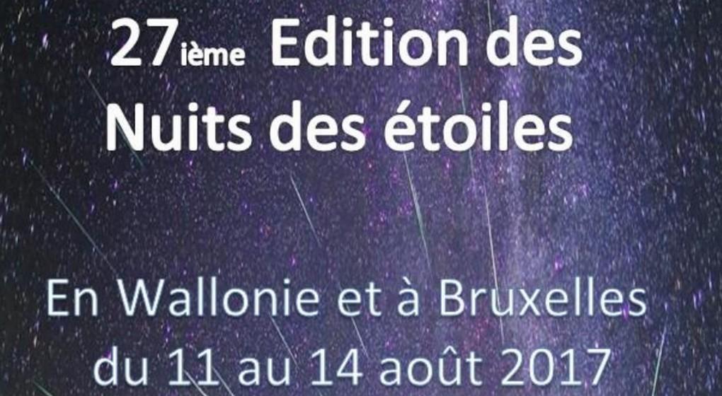 Nuit des Etoiles 2017 - Bruxelles