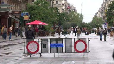 Attentats en Catalogne : le piétonnier de Bruxelles déjà sécurisé depuis l'attaque au camion-bélier de Nice