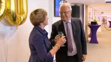 RSC Anderlecht : Roger et Kiki Vanden Stock fêtent leurs 50 ans de mariage