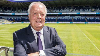 Le président d'Anderlecht Roger Vanden Stock mis à l'honneur par l'UEFA