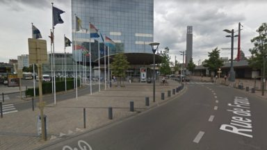 Un chauffeur d'une société privée «tasé» par des chauffeurs de bus à Bruxelles-Midi