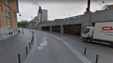 Bruxelles : des baraquements du festival Recyclart Holidays détruits par le feu