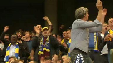 Les supporters rassurés après la première victoire de l'Union Saint-Gilloise