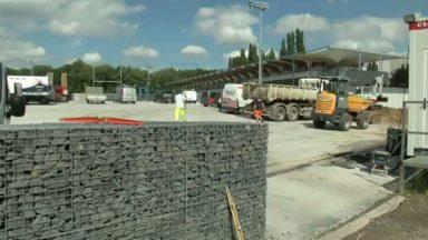Neder-over-Hembeek : les riverains du Petit Chemin Vert pestent contre le chantier du centre sportif