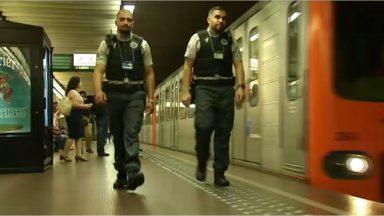 Malgré la baisse de la menace au niveau 2, les mesures de sécurité restent d'application à la Stib et à la SNCB