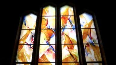 Basilique de Koekelberg : des nouveaux vitraux en l'honneur du cardinal Danneels