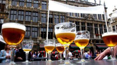 Les Brasseurs belges réunis sur la Grand-Place de Bruxelles ce week-end