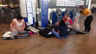 Brussels Airport: la grève se poursuit, malgré une réunion entre direction et syndicats