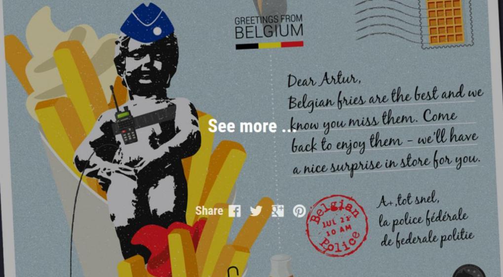 Europol. Des cartes postales pour les criminels les plus recherchés