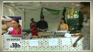 """Bon bilan pour le """"Indian food festival"""" au parc du Cinquantenaire"""