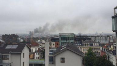 Un incendie s'est déclaré dans un entrepôt d'Anderlecht