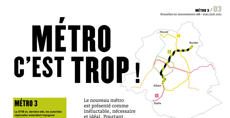 Revue de presse m3tro c 39 est trop bruxelles en for Presse agrume professionnel metro