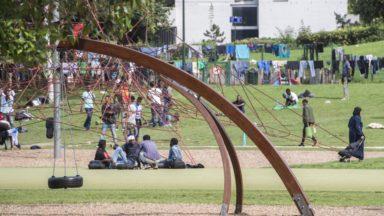"""Des espaces loués pour des """"moments intimes"""" au parc Maximilien"""