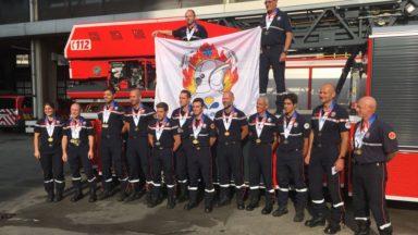 Moins de 1% de femmes chez les pompiers de Bruxelles